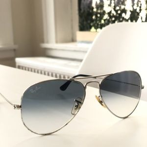 Ray-Ban Light Blue Gradient None Sunglasses